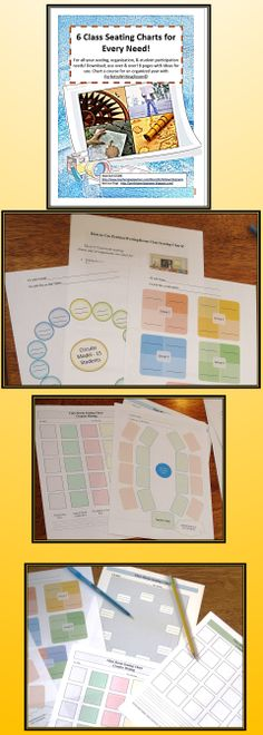 FREE downloadable basic classroom seating chart template from The - free classroom seating chart maker