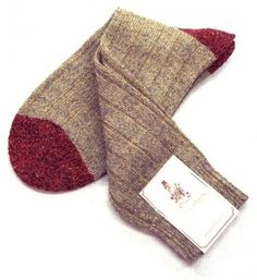 O'Connell's Alpaca-Wool mid-calf Donegal Sock