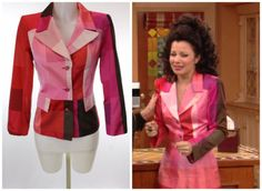 What Fran Wore: Christian Lacroix Blazer. Fran's blazer was altered into a crop