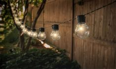 Solar-Powered Retro-Style String Light Bulbs - 382682 For Sale, Buy from Outdoor String Lights collection at MyDeal for best discounts.