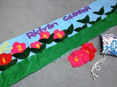 Festival of Ridvan Felt Calendar - Baha'i Children's Classes
