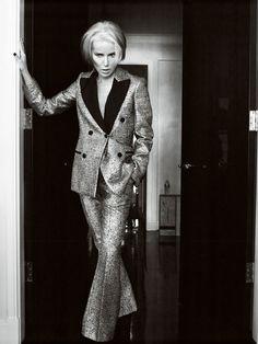 BRYAN ADAMS PHOTOGRAPHY Daphne Guinness / German Vogue
