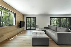 Fraternité-sur-Lac - Picture gallery #architecture #interiordesign #livingroom