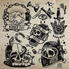 Best Old School Tattoo Ideas. We have a photo gallery featuring cool and meaning… Best Old School Tattoo Ideas. We have a photo gallery featuring [. Flash Art Tattoos, Body Art Tattoos, New Tattoos, Sleeve Tattoos, Hand Tattoos, Oldschool Tattoos, Biker Tattoos, Motorcycle Tattoos, Black Tattoos