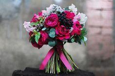 букет в цвете фуксия - Поиск в Google