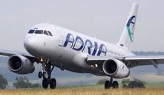 M1:100 (!!!), Adria Airways Airbus A320-231 Free Airplane Paper Model Download