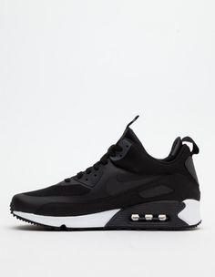 Nike Air Max sneaker boot black