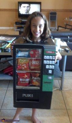 The Vending Machine - Homemade Halloween Costume