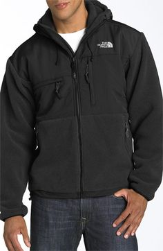 7780a57e0d96 The North Face  Denali  Hooded Recycled Fleece Jacket available at   Nordstrom Mens Fleece