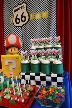 Isn't it fun to have a Super Mario party? I hope this list of Super Mario party ideas can inspire you to create a Super fun party. Mario Bros Cake, Super Mario Cake, Super Mario Birthday, Mario Birthday Party, Super Mario Party, 10 Birthday, Birthday Ideas, Mario Kart, Mario E Luigi