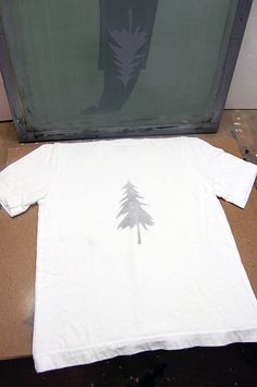 How to make your own screen printing for shirts, bags, and so on--looks pretty easy and cheap!  by The Art of Doing Stuff
