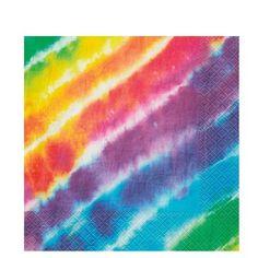 Peace Tie Dye Party Napkins 16ct