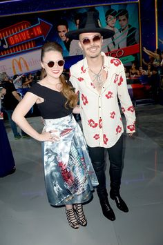 Pin for Later: All the Fiery Red Carpet Looks You Need to See From This Year's Premios Juventud Jesse y Joy