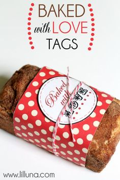 Baked With Love tags
