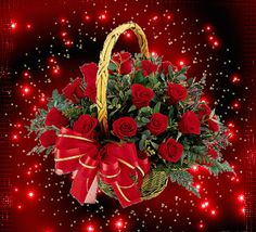 The perfect Basket Red Roses Animated GIF for your conversation. Discover and Share the best GIFs on Tenor. Roses Gif, Flowers Gif, All Flowers, Exotic Flowers, Beautiful Bouquet Of Flowers, Beautiful Flowers Wallpapers, Beautiful Rose Flowers, Pretty Roses, Beautiful Love Pictures