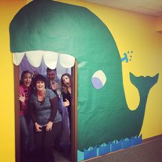 Jonah And The Whale Vbs Idea Bible Party For Kids Pinterest
