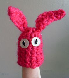 Bunny finger puppet | Cult of Crochet