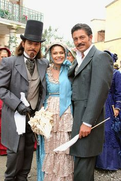 Amor Real 2003 - Behind The Scenes: Ernesto Laguardia, Maria Sorte, Fernando Colunga
