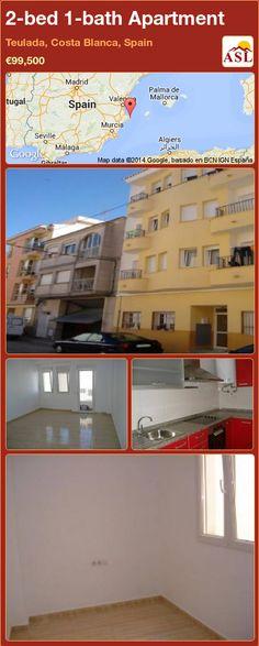 2-bed 1-bath Apartment in Teulada, Costa Blanca, Spain ►€99,500 #PropertyForSaleInSpain