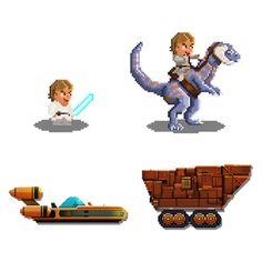O'bryan: Star wars pixel