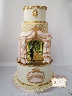 beauty and the beast by Bonboni Cake