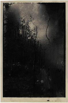 """gacougnol:  Josef SudekWindow From """"Window of my studio, Winter"""" c. 1949"""
