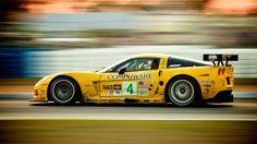 Corvette C6R. At Sebring in 2006.