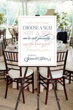 Printable Vintage Wedding Seating Sign  Choose a by pompdesigns, $23.99
