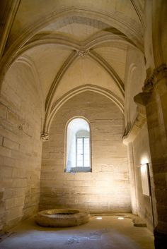 The well room. Follow this link to see more great pics of La Chateau de Vincennes.  http://mikestravelguide.com/things-to-do-in-paris-chateau-de-vincennes/