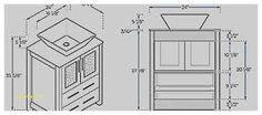 """If you were wondering which is the standard height of a regular bathroom vanity cabinet, that would be 32"""", although the range can be anywhere from 30"""" to 36"""" or so. Nowadays, the modern units are taller, and they are named comfort height vanities. Another thing to note here is that vanities can end up coming with a multitude of height options. You need to think about the vessel sink height, comfort height, and then you also have the standard height."""