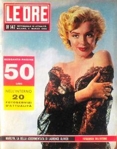 Marilyn Monroe - Le Ore, March, 1956.
