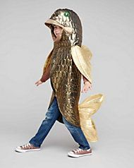 Bigeye Bass Fish Costume for Kids