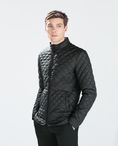 Image 2 of QUILTED OVERSHIRT from Zara