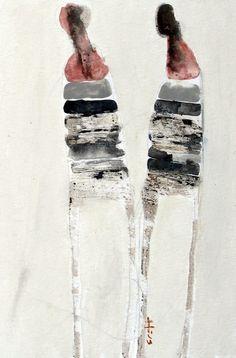 """Saatchi Online Artist: Scott Bergey; Mixed Media, 2012, Painting """"June 16"""""""