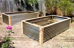 Raised Vegetable Beds contemporary-landscape