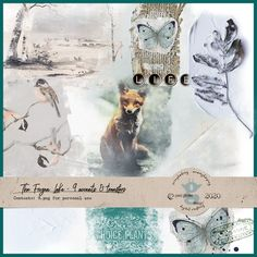 This digital scrapbooking kit contains a variety of 9 artsy accents and transfers. These will work well as a center piece for any layout, but can also be used as an element to add a little artsy touch. These are part the collection The Frozen Lake by Pixel Giraffe Design. Scrapbooking Kit, Giraffe, Digital Art, Frozen, Artsy, Layout, Touch, Collection, Design