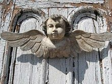 Weathered Angel (Perfect for a Shabby Cottage)