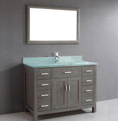 Bathroom Vanity Kalize 48 French Gray Finish
