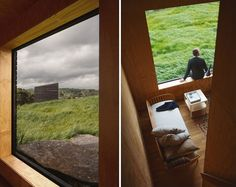 cheshire architects embeds monolithic eyrie cabins into rural new zealand landscape