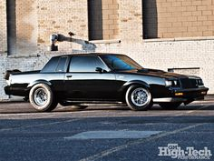 1987 Buick Grand National. I was obsessed with this car when it came out! Especially the GNX version.