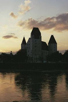 Castle of Ingolstadt. End of the architectural development of fortresses after the mid-15th century.