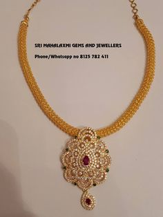 Check Out These Small (& Stunning) Gold Necklace Designs – jewelry Gold Necklace Simple, Gold Jewelry Simple, Gold Necklaces, Small Necklace, Ruby Necklace, Diamond Necklaces, Stone Necklace, Women's Earrings, Gold Chain Design
