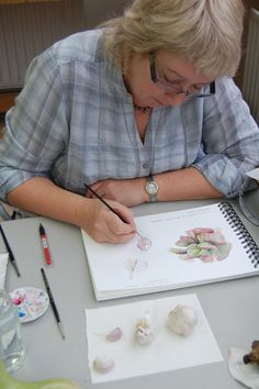 Botanical painting at West Dean (with Mariella Baldwin)