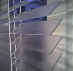 plexi glass blinds