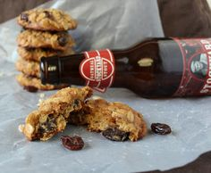 Tried in Blue: Fermented Friday: Oatmeal Stout Raisin Cookies