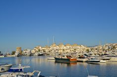 The Marina of Puerto Banus Marbella Spain