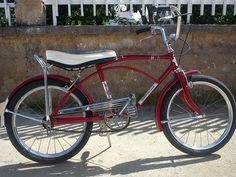 Velamos Super Deluxe (made in Chehoslovakia), my 1st bike when I was 6.