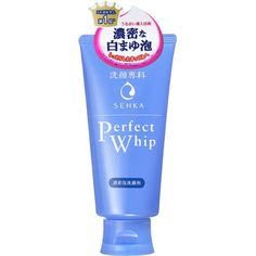 Senka Perfect Whip Cleansing Foam 120 g Best Face Wash, Acne Face Wash, Best Japanese Skincare, Japanese Products, Dry Flaky Skin, Collagen Facial, Best Face Products, Acne Products