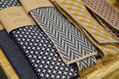 Howlin' knit ties by Morrison