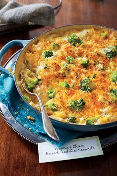 Broccoli Recipes: Cheesy Broccoli-and-Rice Casserole